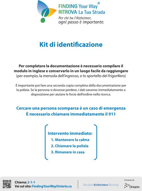 Identification Kit